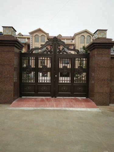 铝艺庭院门4
