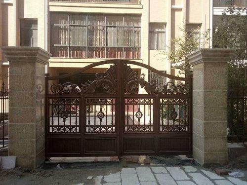 铝艺庭院门0