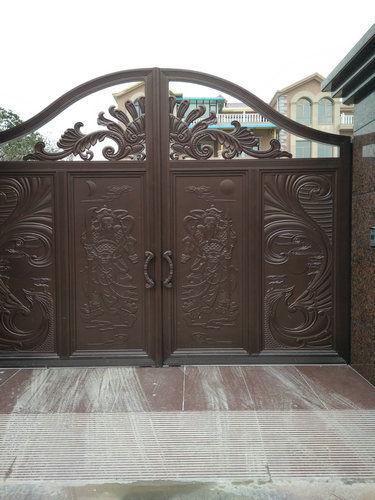铝艺庭院门7