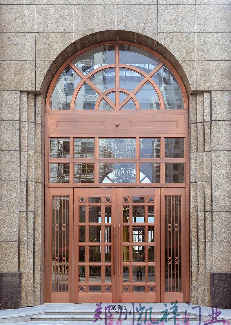 庭院铜艺门2