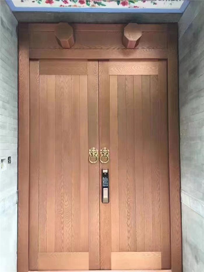 中式对开门11