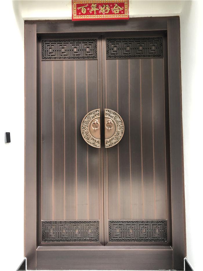 中式对开门10